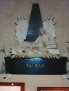 Photo of Vauban's tomb in les Invalides